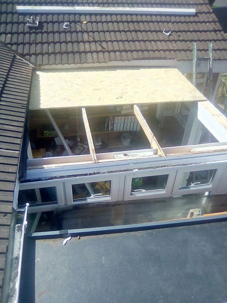 Rubber Flat EPDM Roof