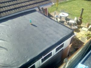 Rubber Flat EPDM Roof
